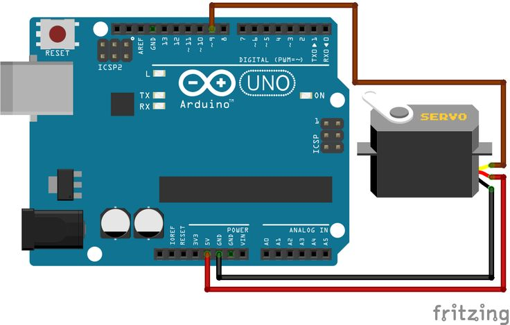 Learn how to control servo motor by arduino library. Also, learn servo motor connection and programming code.