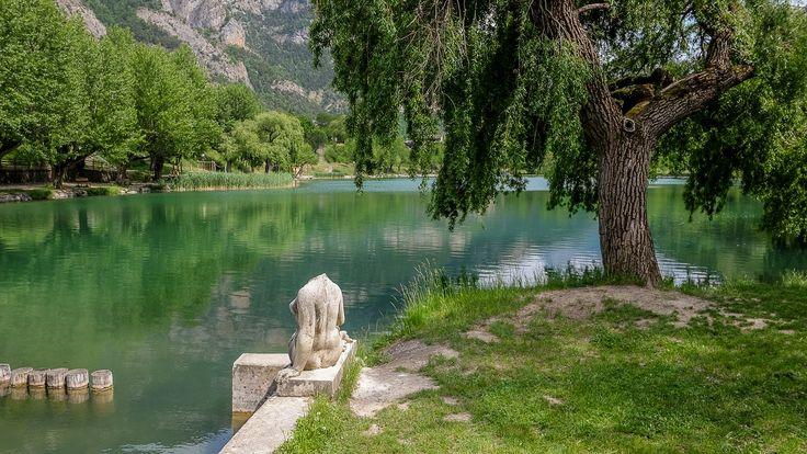 Lac du Lauzet/Ubaye à 959 m - Ubaye - Sur la route qui mène à Barcelonnette
