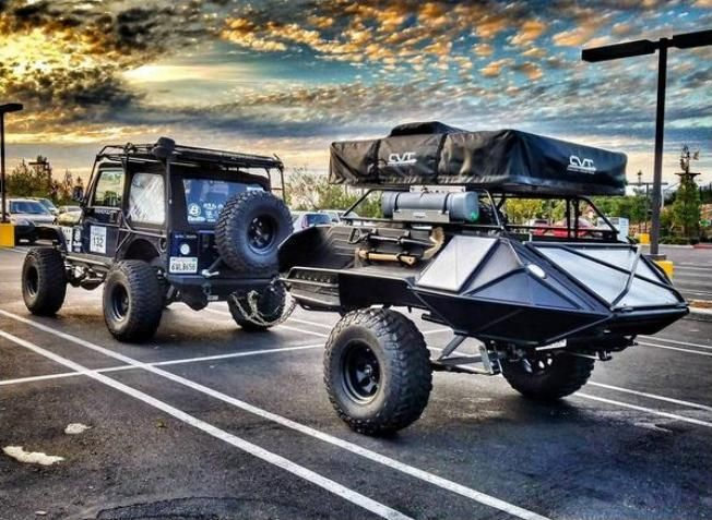 Here is a different looking Compact Off-road Camper Photo by Thewildyolo Instagram