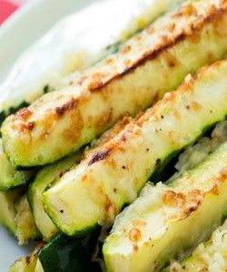 Garlic Lemon and Parmesan Oven Roasted Zucchini | Want-to-Share.com