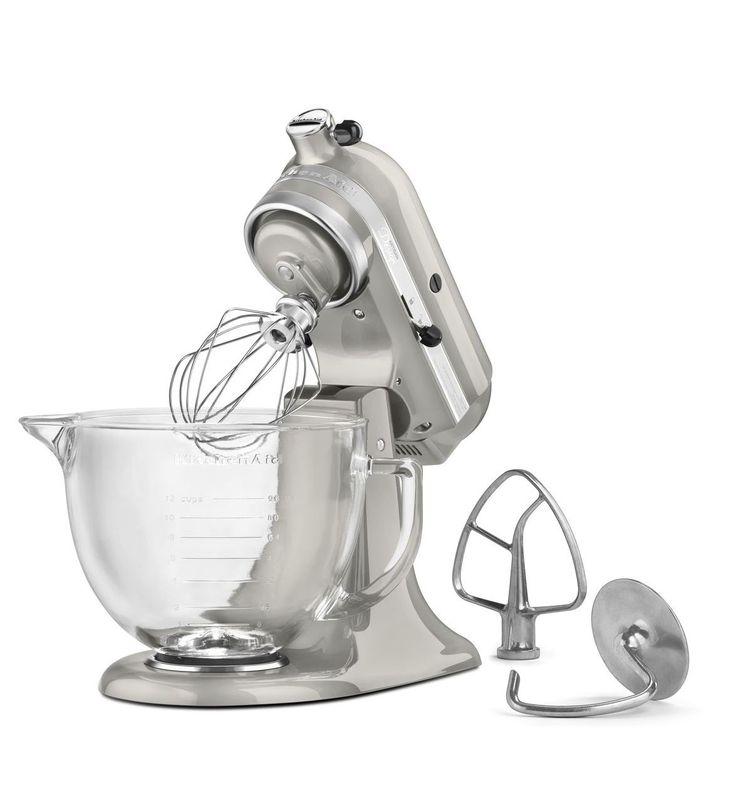 Diseño Serie KitchenAid ® Artisan ® 5-Quart pie con cabeza inclinable Mezclador con el bol de vidrio