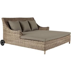 Double Day Bed in Rattan