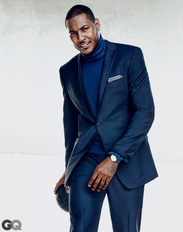 Carmelo Anthony Suits Up for GQ, Talks Love for Zegna