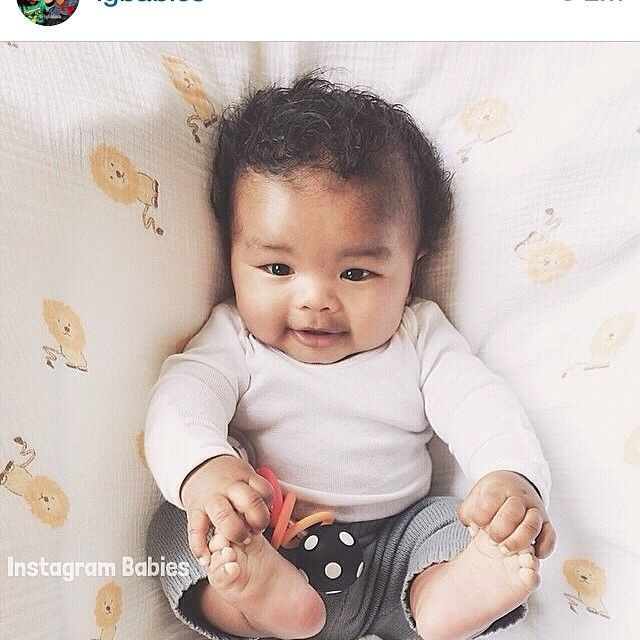 20 best images about Blasian Babies on Pinterest - Cute Hairstyles For Mixed Girl Hair