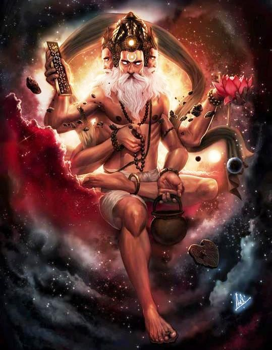 Brahma the Hindu God or Creation