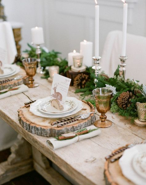 Rustic winter wedding!  Shop the look at stylWed.com