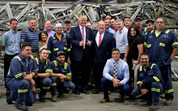 Unemployment Takes A HUGE Hit After Giant Auto Manufacturer Makes Epic Trump Announcement - Conservative Daily Post
