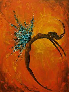 Rebekah's Art: Rivers of Living Water