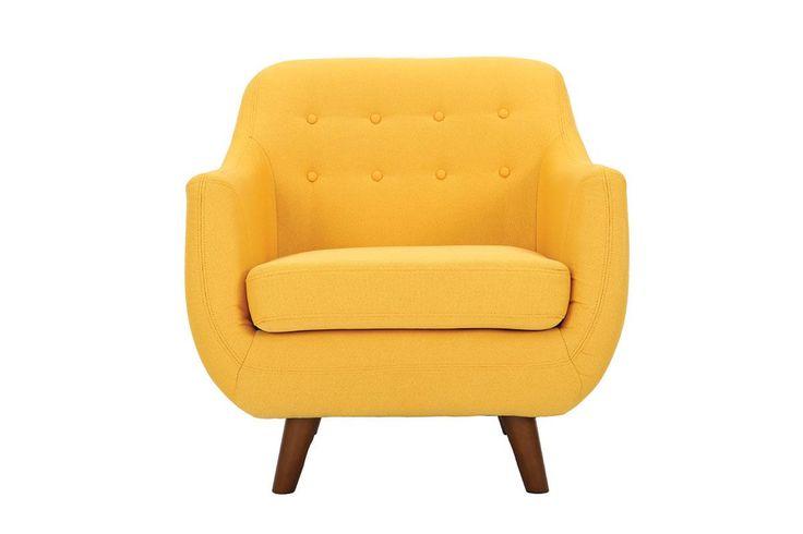 les 25 meilleures id es de la cat gorie fauteuil jaune sur. Black Bedroom Furniture Sets. Home Design Ideas