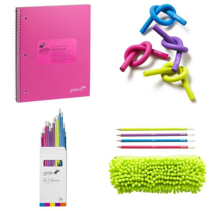 Yoobi SCHOOL Supplies #WEEPLAN