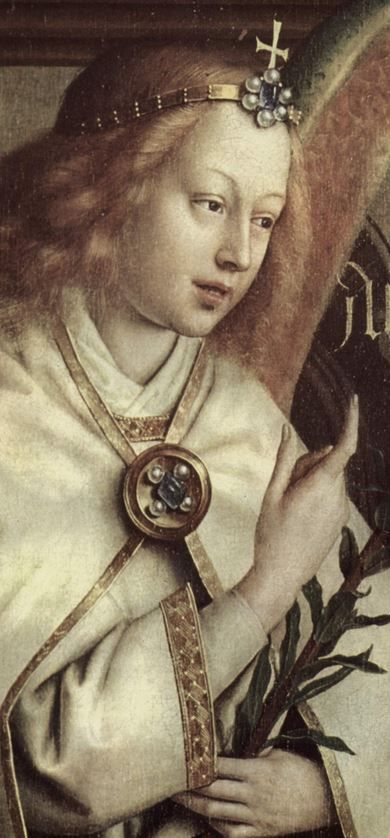 The Ghent Altarpiece (detail)
