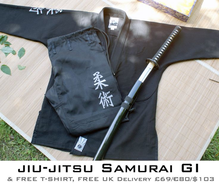 if i trained gi jiu jitsu, i would so need this to fulfill my inner ninja needs! LOL