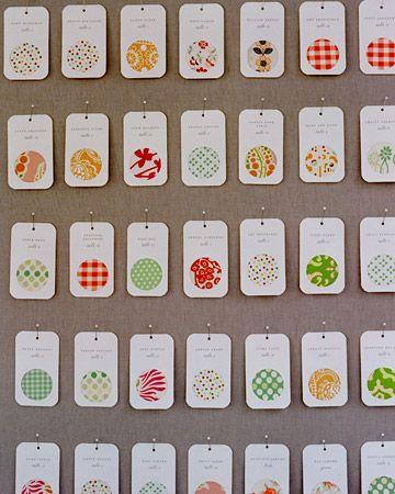 plan de table avec symboles pour identifier les tables