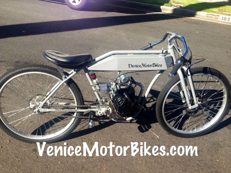 motorized bicycle, board track racer, btr, replica motorcycle, vintage bicycle