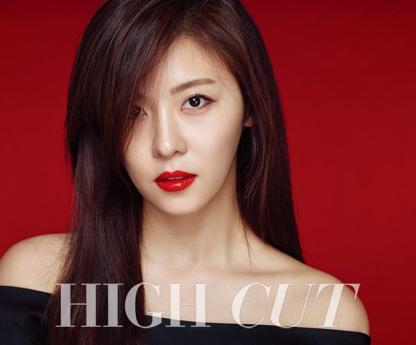Ha Ji Won in High Cut Vol. 154 Look 4