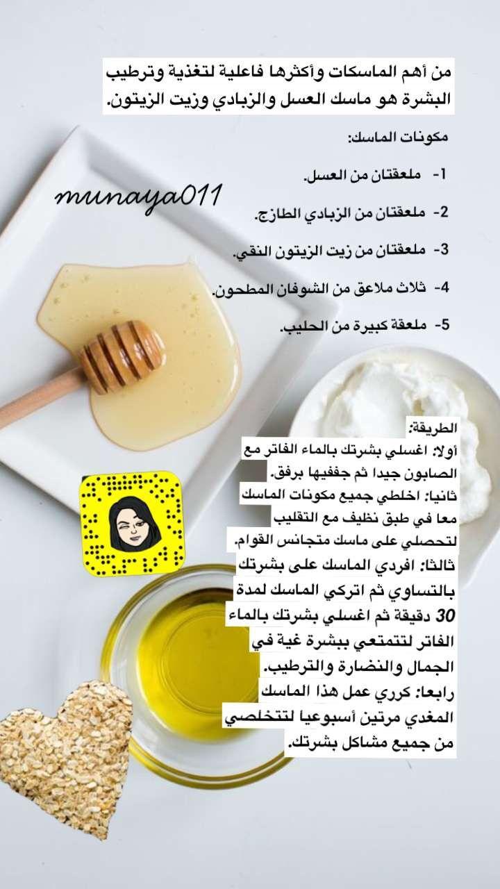 Pin By امينه حكمي Aminh On خلطات تجاربي عنايه اهتمام Skin Care Food Fruit