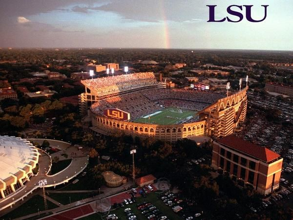 LSU Football Stadium.... Heaven couldn't possibly be any better than being here on a Saturday night in the fall