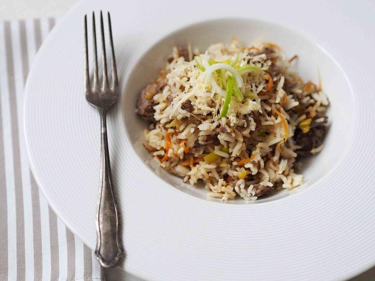 Lednové číslo magazínu Na skok v kuchyni je plné rad, jak se vypořádat s kily navíc. Zde mám pro vás vynikající dietní jídlo, které si můžete bez výčitek dopřát. 200 g rýže Basmati 250 g…