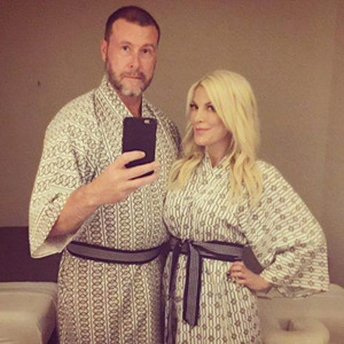 See How Tori Spelling Helped Dean McDermott Celebrate His 49th Birthday