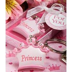 Princess Crown Keychain - Pink Favour