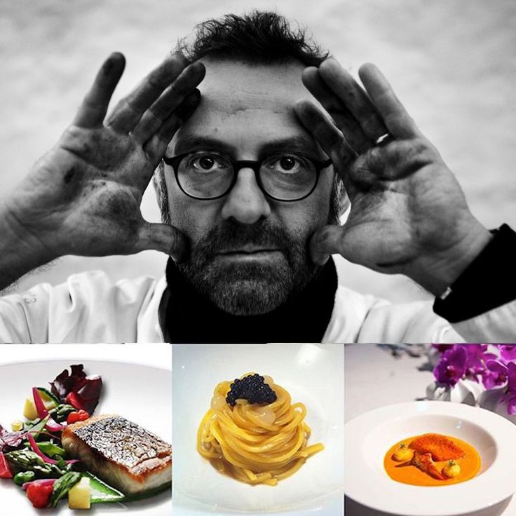 3 star - Chef Massimo Bottura - Osteria Francescana, Italy #italianfood #italianchef #italianrestaurant www.100ITA.com