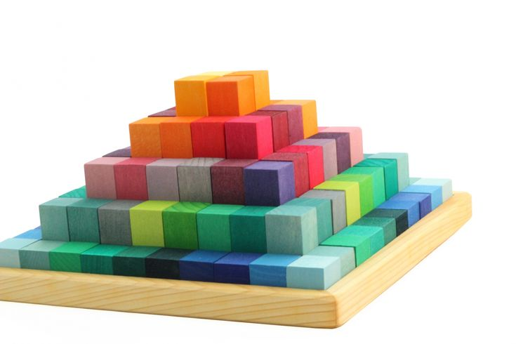 Jeu de construction Pyramide