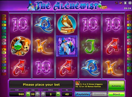 Онлайн автоматы алхимик бесзплатные игровые аппараты без регистрации и смс