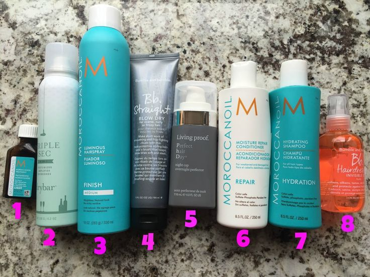 """Great products to tame thick/wavy/frizzy hair and to get perfect """"beachy"""" hair."""