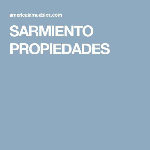 SARMIENTO PROPIEDADES