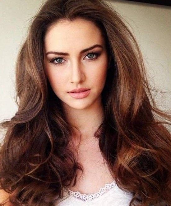 Brunette Hair Color Trends 2017 Chocolate Brown London