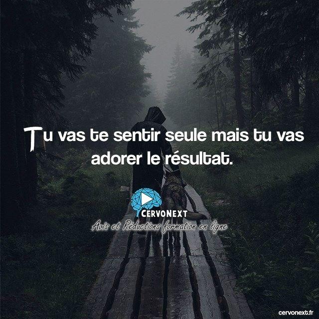 Tu vas te sentir seule mais tu vas adorer le résultat. - http://cervonext.fr/ - Follow : @cervonext