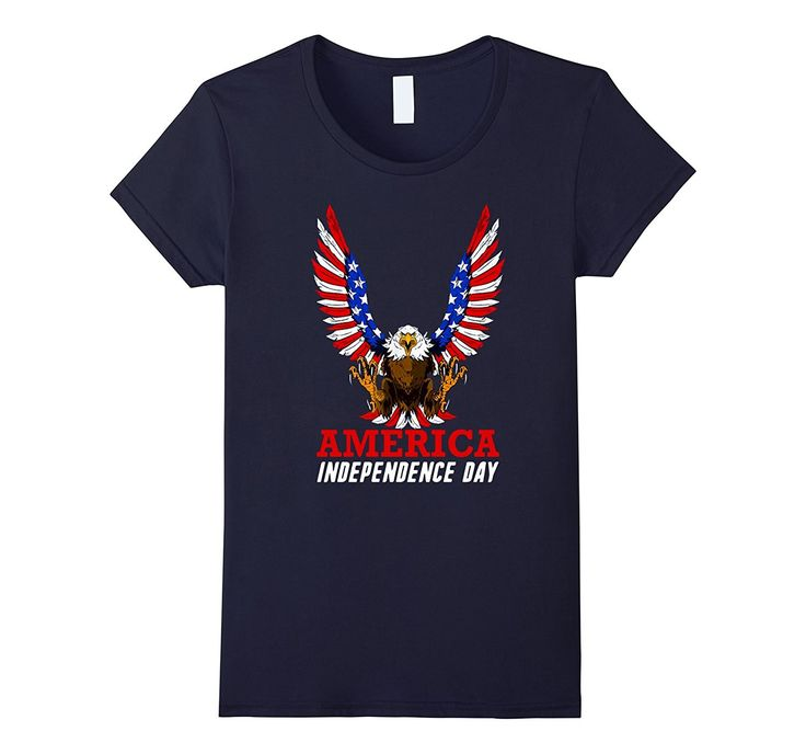 AMERICA INDEPENDENCE DAY T-SHIRT - 4th of July- 1776-2017