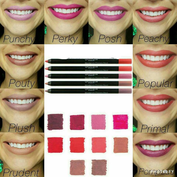 Moodstruck Precision Lip Pencils www.abcyounique.com