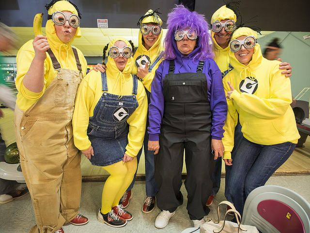 Find Despicable Me Minions Halloween Costumes for kids and adults here. Minions costumes for kids will keep them laughing at their Halloween party.