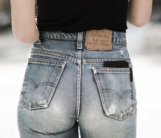 14 Le Fashion Blog Shots That Prove Levis Make Your Butt Look Amazing Good High Waisted Denim Via Garance Dore