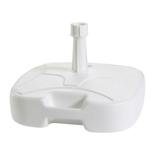 FISKÖ Base para sombrilla, blanco