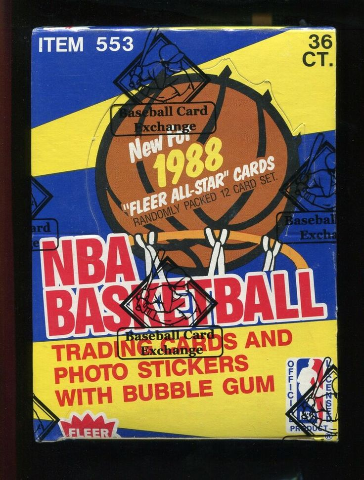 1988 fleer basketball bbce sealed wax box 36 ct pippen