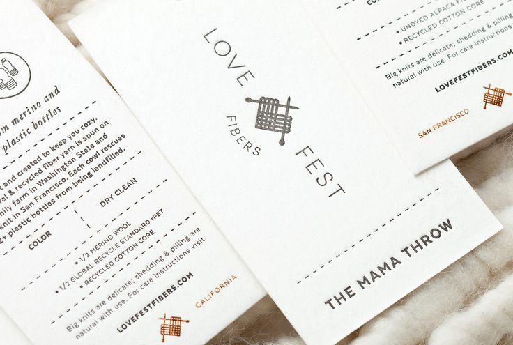 Love Fest Fibers Branding | Abduzeedo Design Inspiration