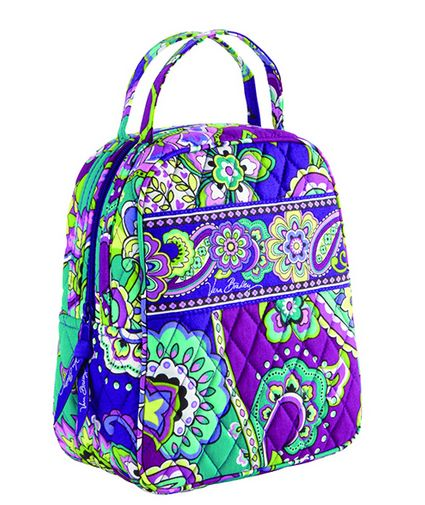 Vera Bradley lunch bunch in heather #cloister collection