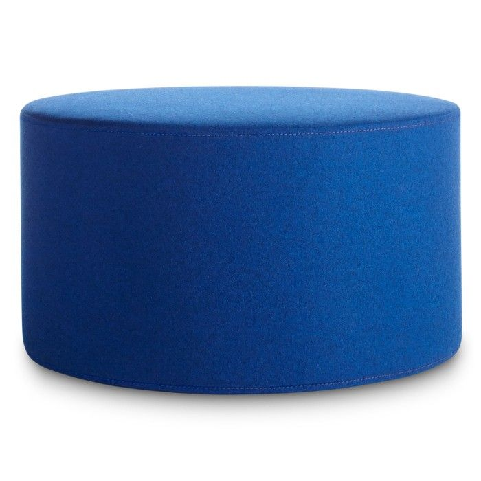 Bumper Large Ottoman: A Round Ottoman Upholstered With Fabric Available In  13 Colors. Buy This Large Round Ottoman And Modern Ottomans At Blu Dot.