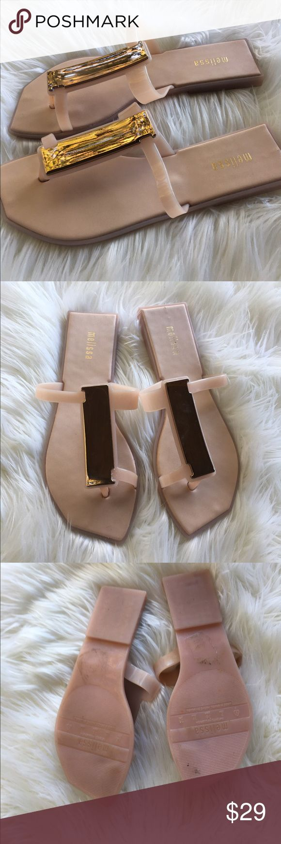 Mellisa jelly sandals Like new jelly Melissa sandals super comfy and trendy. Melissa Shoes Sandals