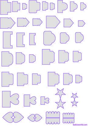 tags para minialbuns Modelos de tags e divisórias para mini álbuns…