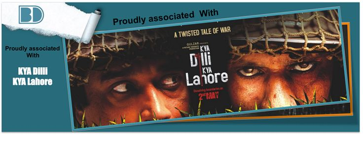 "Kya Dilli Kya Lahore is a 2014, war drama film set in 1948, post-Independence period and deals with the subject of Indo-Pak partition. The movie stars Vijay Raaz, Manu Rishi, Raj Zutshi and Vishwajeet Pradhan in the lead roles, and credits Gulzar as the presenter of the film. Bollywoodirect was its ""Special Engagement Partner"""