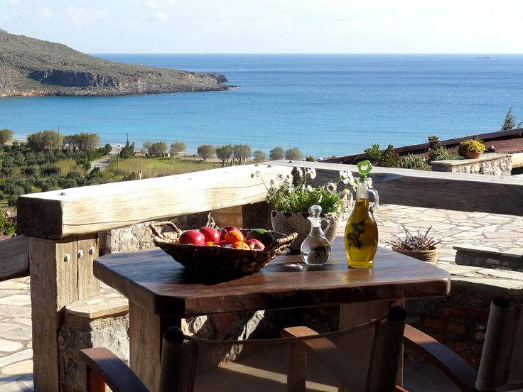 NEW : Terra Minoika Villas, igh on the slopes above the small authentic & unspoiled village of Kato Zakros ... Ready to Book: http://www.cretetravel.com/hotel/terra-minoika-villas/ Photo by S. Ailamaki