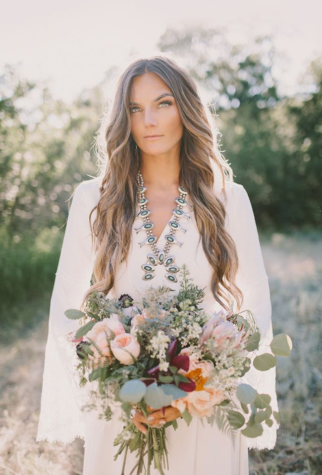 Tessa Barton Wedding Gown and Florals