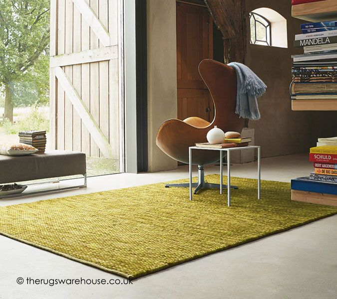 Pinto Green Rug (100% wool, handwoven in Hungary) http://www.therugswarehouse.co.uk/green-rugs/pinto-green-rug.html