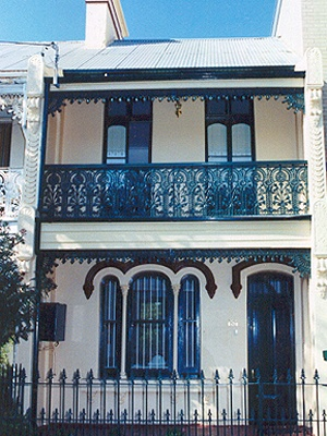 Sydnet Terrace House