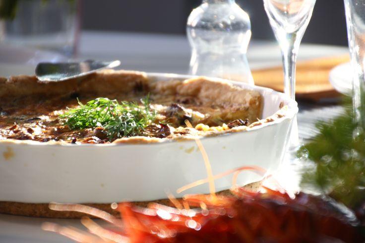 Kantarellpaj med västerbottenost - Uplifting - allt om god mat - recept, tips, restauranger, dryck