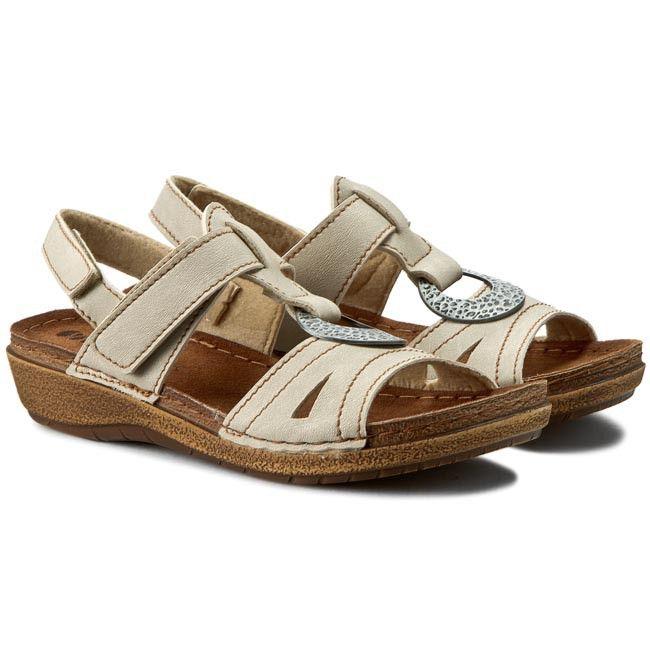 Sandály INBLU - 44276J03 Béžová