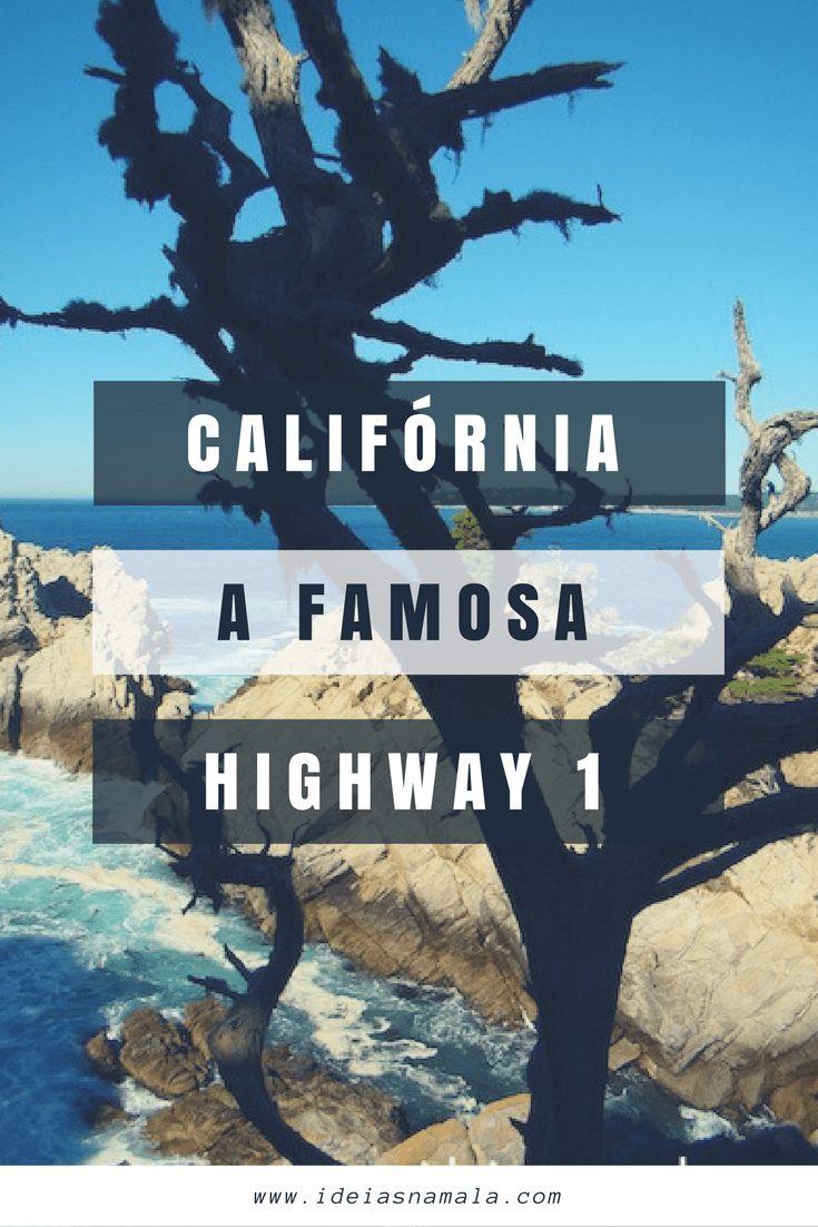 """A Route 1, também conhecida como Highway 1 ou The Pacific Coast Highway é uma das estradas mais famosas e mais bonitas dos Estados Unidos, são 660 milhas de paisagens de cair o queixo com direito a praias, parques nacionais, vinícolas e até um castelo. Percorremos o trecho que liga São Francisco a Los Angeles na Califórnia. Nos próximos parágrafos daremos muitas dicas de paradas imperdíveis e de como planejar sua viagem ou como os gringos gostam de chamar: """"road trip""""."""